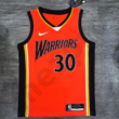 Kép 2/3 - Golden State Warriors - Stephen Curry - kosárlabda mez - narancs - Férfi