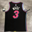 Kép 3/3 - Miami Heat - Dwyane Wade - kosárlabda mez - fekete - Férfi