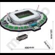 Kép 2/4 - Juventus stadion - 3D Puzzle