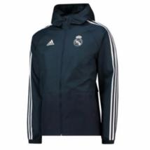 Real Madrid széldzseki - fekete - Férfi