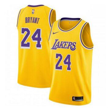 Los Angeles Lakers - Kobe Bryant - kosárlabda mez - sárga  - Férfi