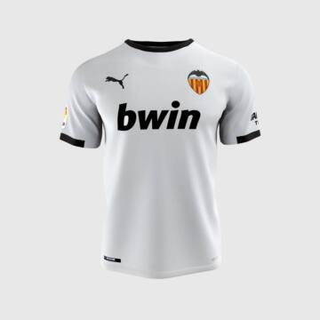 Valencia hazai rövid ujjú 2020-2021 mez - Férfi
