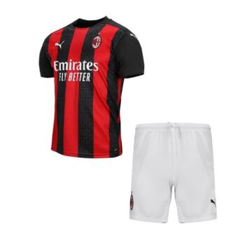 AC Milan hazai 2020-2021 rövid ujjú mez+nadrág (szett) - Gyerek
