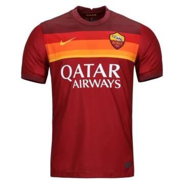 Roma hazai rövid ujjú 2020/2021 mez - Férfi