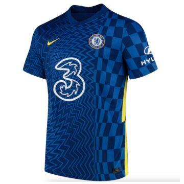 Chelsea hazai 2021-2022 mez (játékos verzió) - Férfi