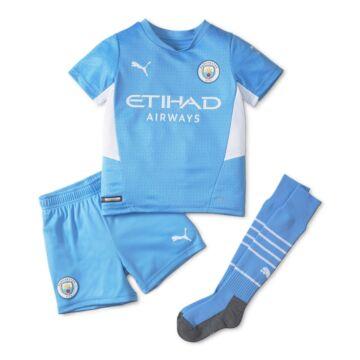 Manchester City hazai 2021-2022 szett (mez+nadrág+sportszár) - Gyerek