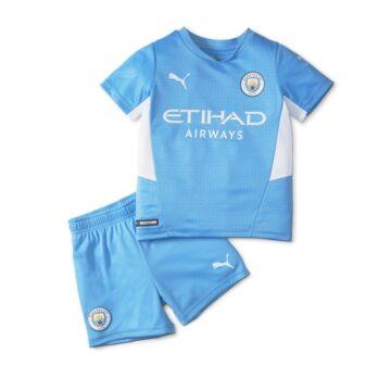 Manchester City hazai 2021-2022 mez+nadrág (szett) - Gyerek