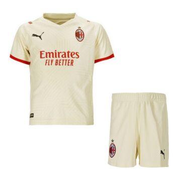 AC Milan vendég 2021-2022 mez+nadrág (szett) - Gyerek
