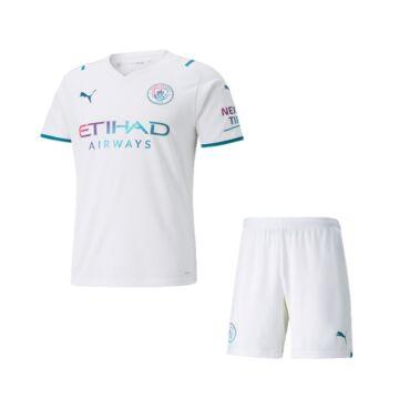 Manchester City vendég 2021-2022 mez+nadrág (szett) - Gyerek