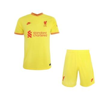 Liverpool 3.számú 2021-2022 mez+nadrág (szett) - Gyerek