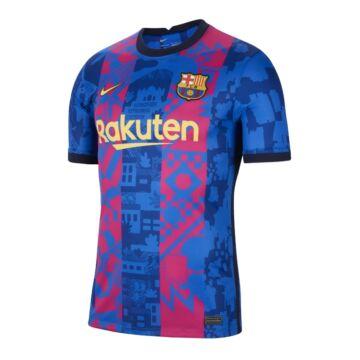 Barcelona 3. számú Bajnokok Ligája 2021-2022 mez (játékos verzió) - Férfi