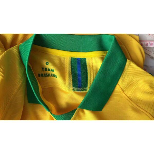 Brazil válogatott hazai (2019) rövid ujjú Vapor Mérkőzés mez - Férfi