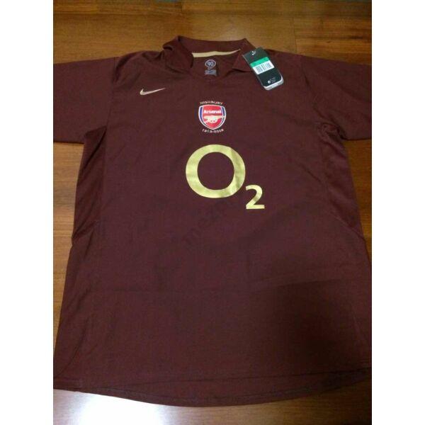 Arsenal 2005-2006 hazai rövid ujjú RETRÓ mez - Férfi
