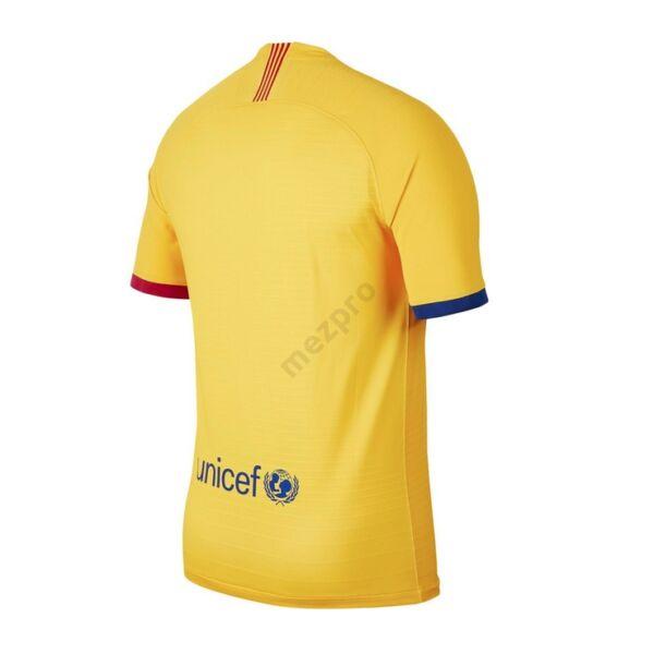 Barcelona vendég rövid ujjú 2019-2020 Vapor Mérkőzés mez - Férfi