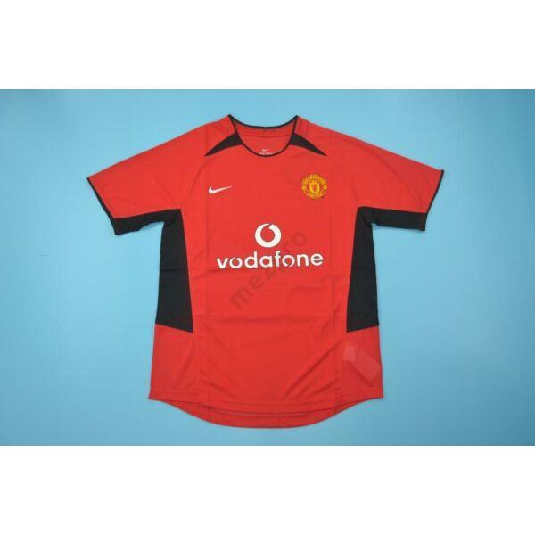 Manchester United 2002-2004 hazai rövid ujjú RETRÓ mez - Férfi