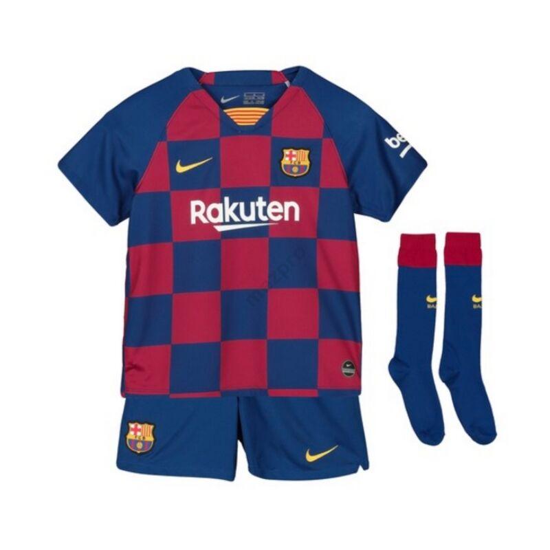 Barcelona hazai rövid ujjú 2019-2020 szett (mez+nadrág+sportszár) - Gyerek