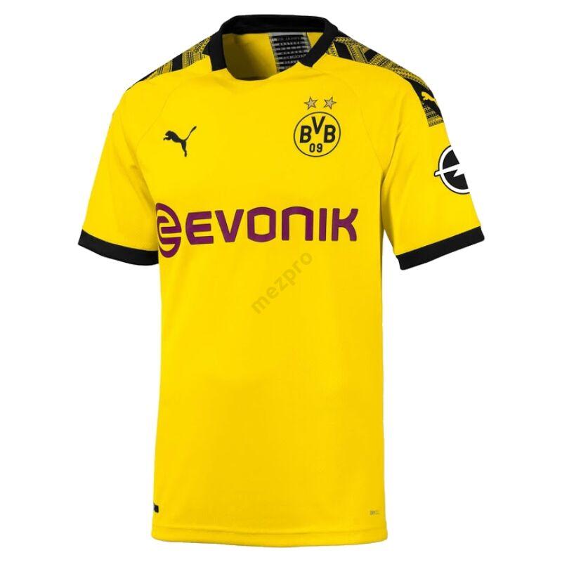 Borussia Dortmund hazai rövid ujjú 2019-2020 mez - Férfi