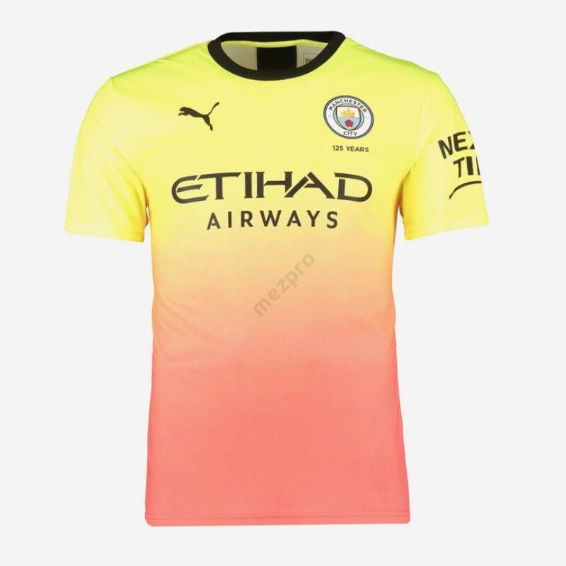 Manchester City 3. számú rövid ujjú 2019-2020 mez - Férfi