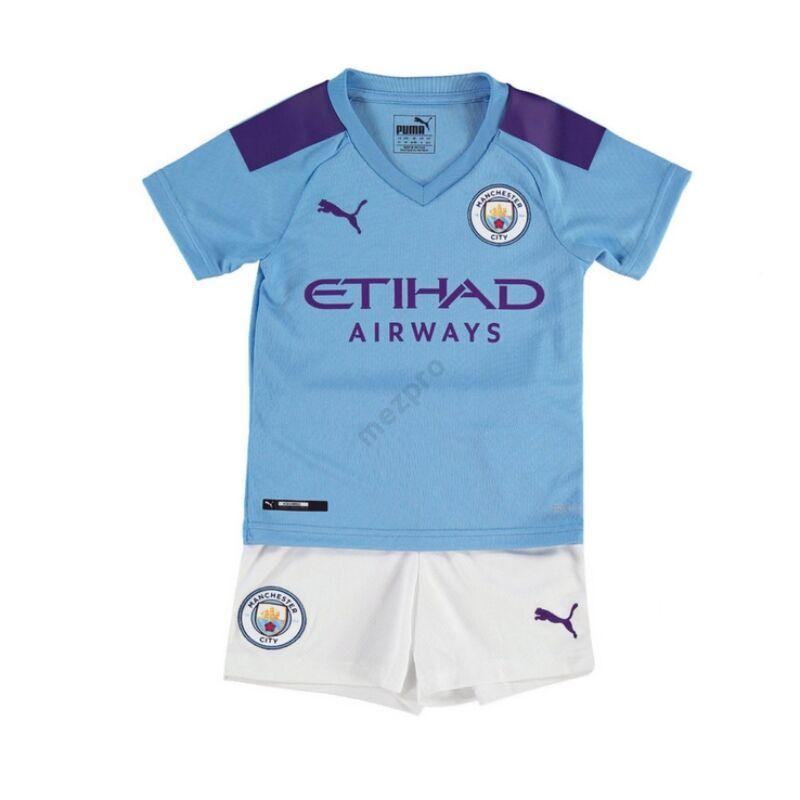 Manchester City 2019-2020 hazai gyerek mez+nadrág szett - RAKTÁRON