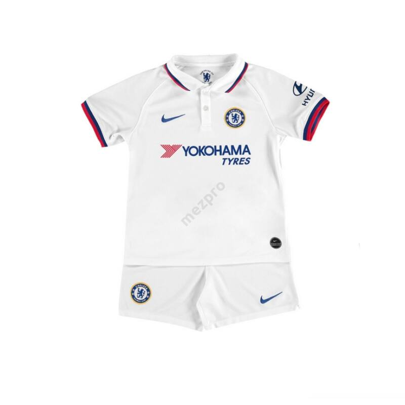 Chelsea vendég rövid ujjú 2019-2020 mez+nadrág (szett) - Gyerek