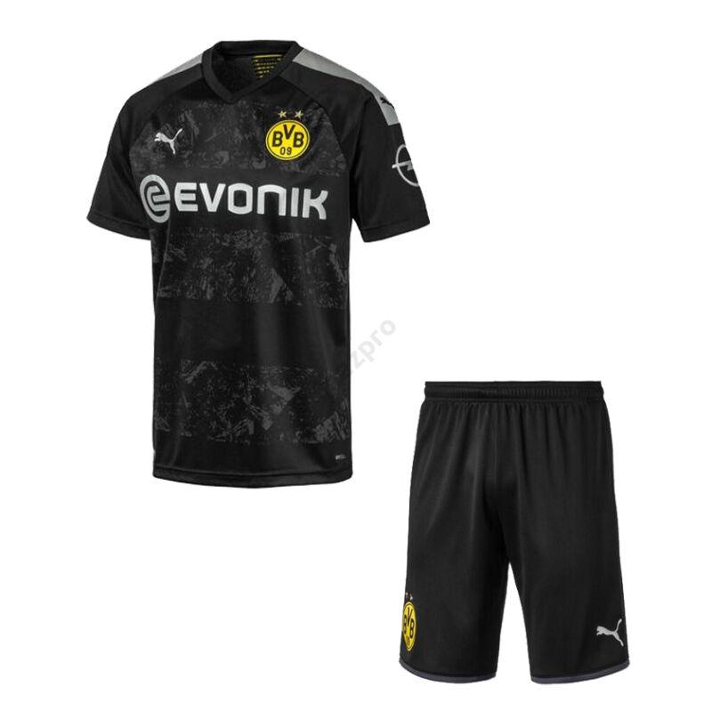 Borussia Dortmund vendég rövid ujjú 2019-2020 mez+nadrág (szett) - Férfi