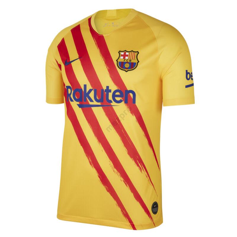 Barcelona 4. számú rövid ujjú 2019-2020 mez - Férfi
