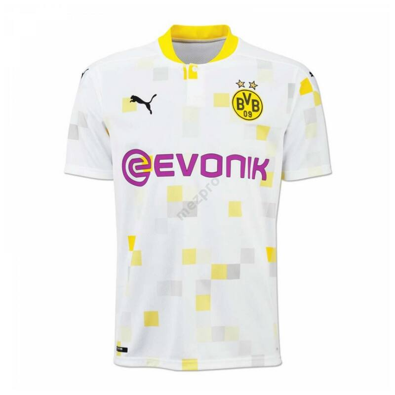 Borussia Dortmund 3. számú rövid ujjú 2020-2021 mez - Férfi
