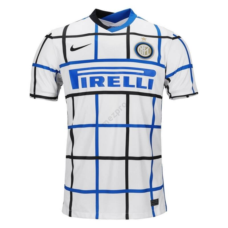 Inter vendég rövid ujjú 2020-2021 mez - Férfi