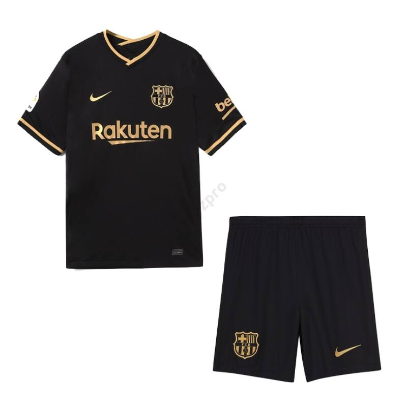 Barcelona vendég rövid ujjú 2020-2021 mez+nadrág (szett) - Férfi