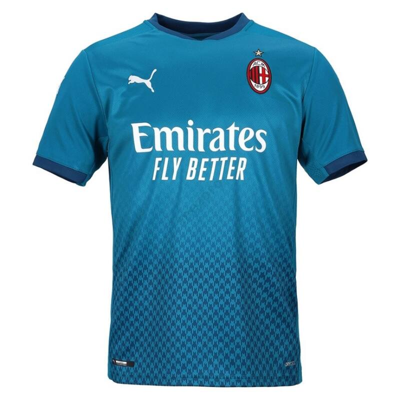 AC Milan 3. számú rövid ujjú 2020-2021 mez - Férfi