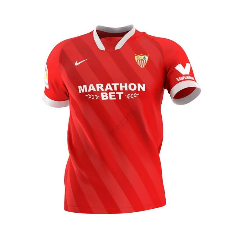 Sevilla vendég rövid ujjú 2020-2021 mez - Férfi