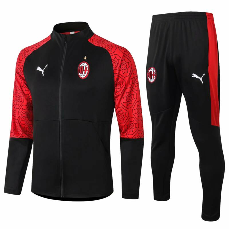AC Milan melegítő szett 2020-2021 (felső+alsó - cipzáros) - Férfi