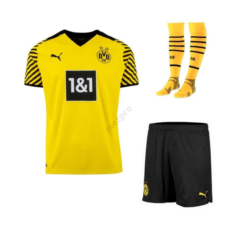 Dortmund hazai 2021-2022 szett (mez+nadrág+sportszár) - Gyerek