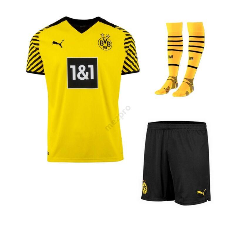 Dortmund hazai 2021-2022 teljes szett (mez+nadrág+sportszár) - Férfi