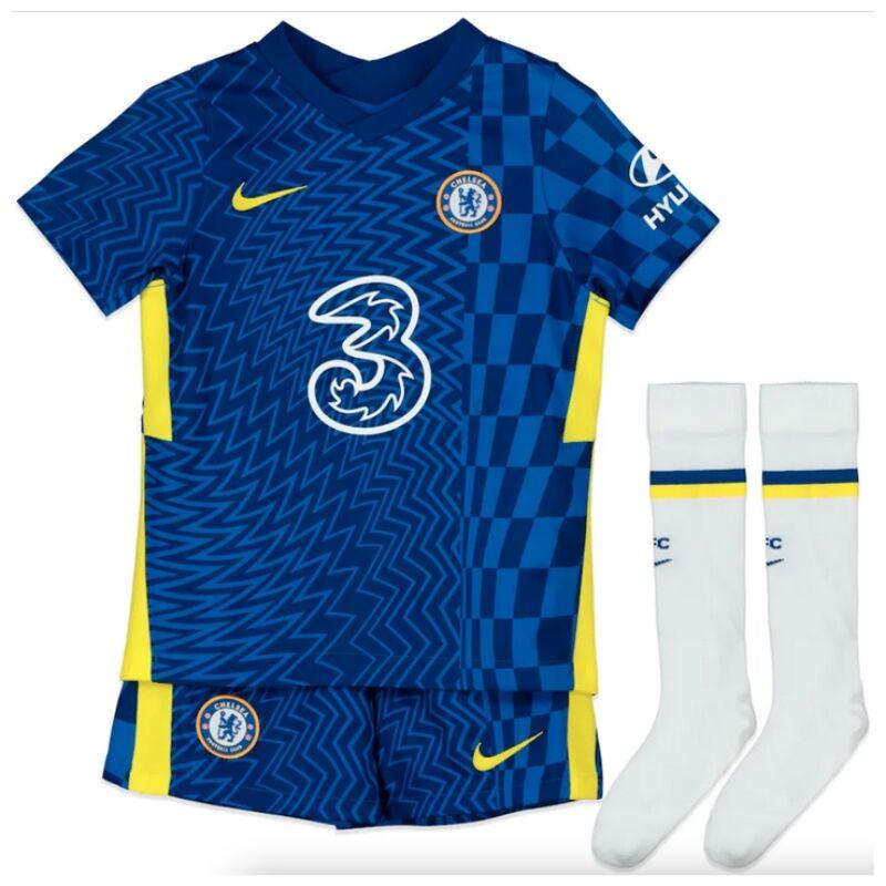 Chelsea hazai 2021-2022 szett (mez+nadrág+sportszár) - Gyerek