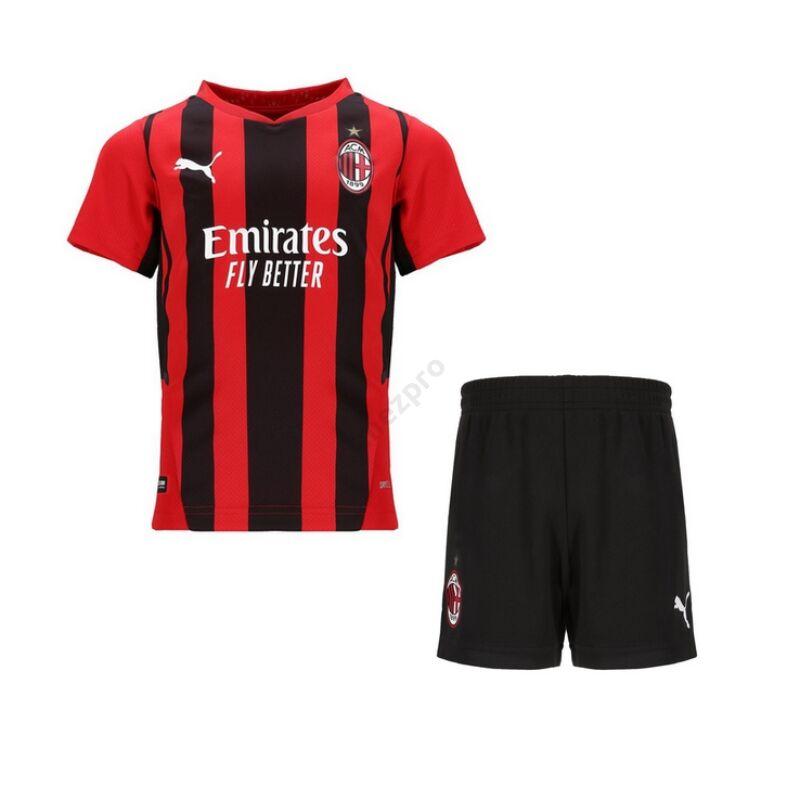 AC Milan hazai 2021-2022 mez+nadrág (szett) - Gyerek