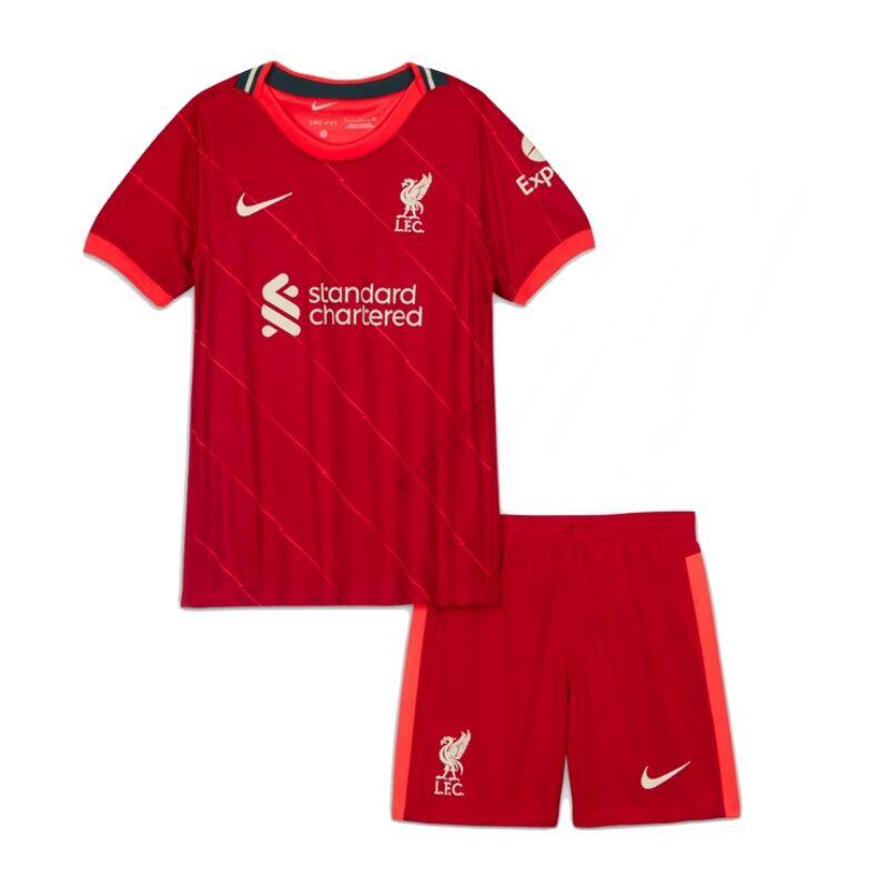 Liverpool hazai 2021-2022 mez+nadrág (szett) - Gyerek