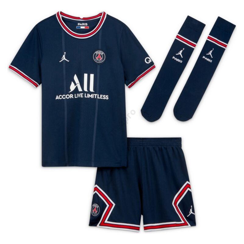 PSG hazai 2021-2022 szett (mez+nadrág+sportszár) - Gyerek