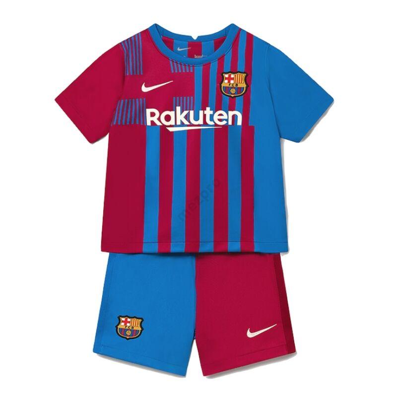 Barcelona hazai 2021-2022 mez-nadrág (szett) - Gyerek