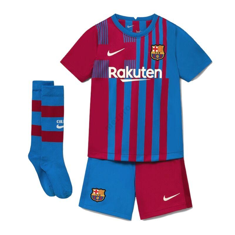 Barcelona hazai 2021-2022 szett (mez+nadrág+sportszár) - Gyerek