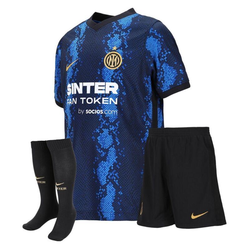 Inter hazai 2021-2022 szett (mez+nadrág+sportszár) - Gyerek