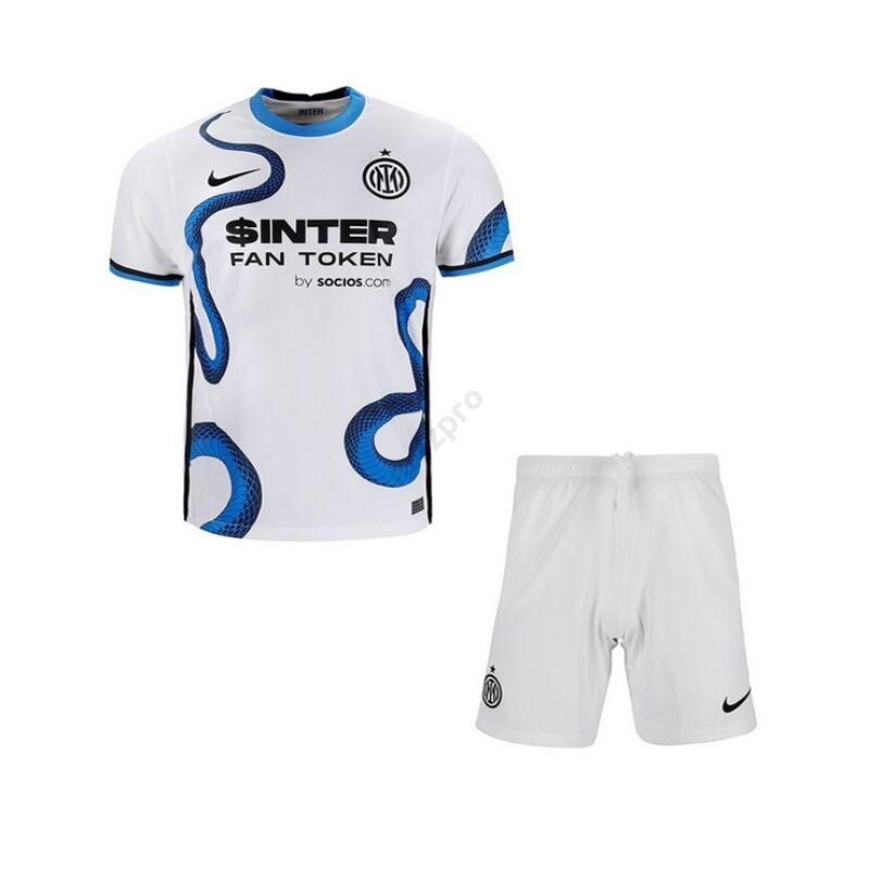 Inter vendég 2021-2022 mez+nadrág (szett) - Gyerek