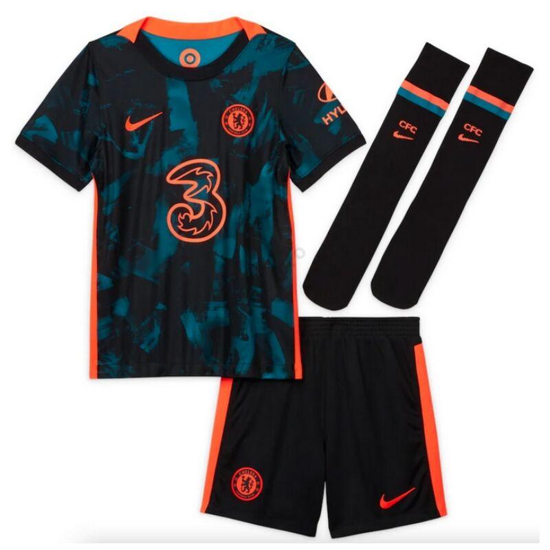 Chelsea 3. számú 2021-2022 szett (mez+nadrág+sportszár) - Gyerek