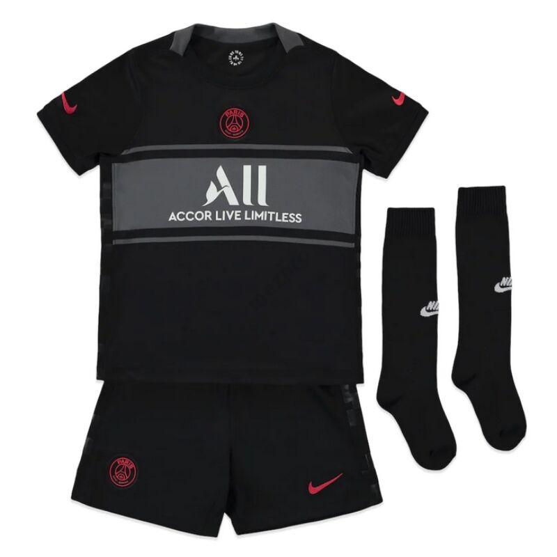 PSG Jordan 3. számú 2021-2022 szett (mez+nadrág+sportszár) - Gyerek