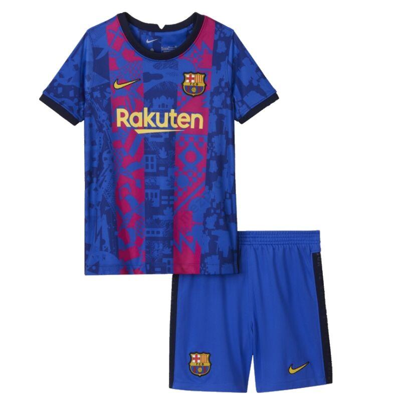 Barcelona 3. számú Bajnokok Ligája 2021-2022 mez+nadrág (szett) - Gyerek