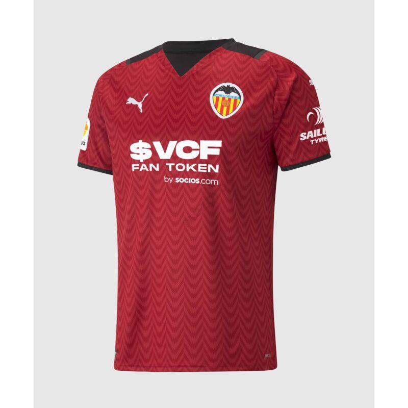 Valencia vendég rövid ujjú 2021-2022 mez - Férfi