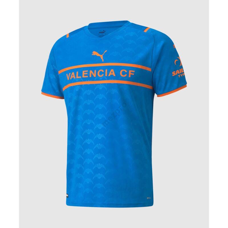 Valencia 3. számú rövid ujjú 2021-2022 mez - Férfi