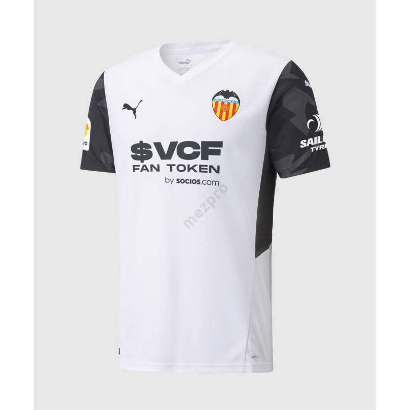 Valencia hazai rövid ujjú 2021-2022 mez - Férfi