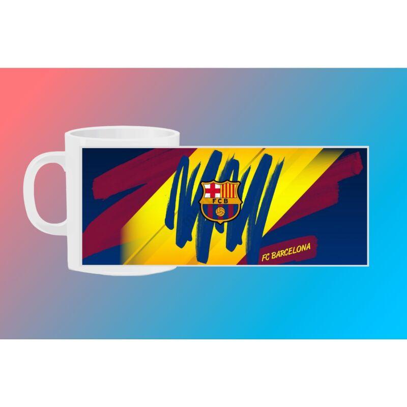 FC Barcelona egyedi bögre