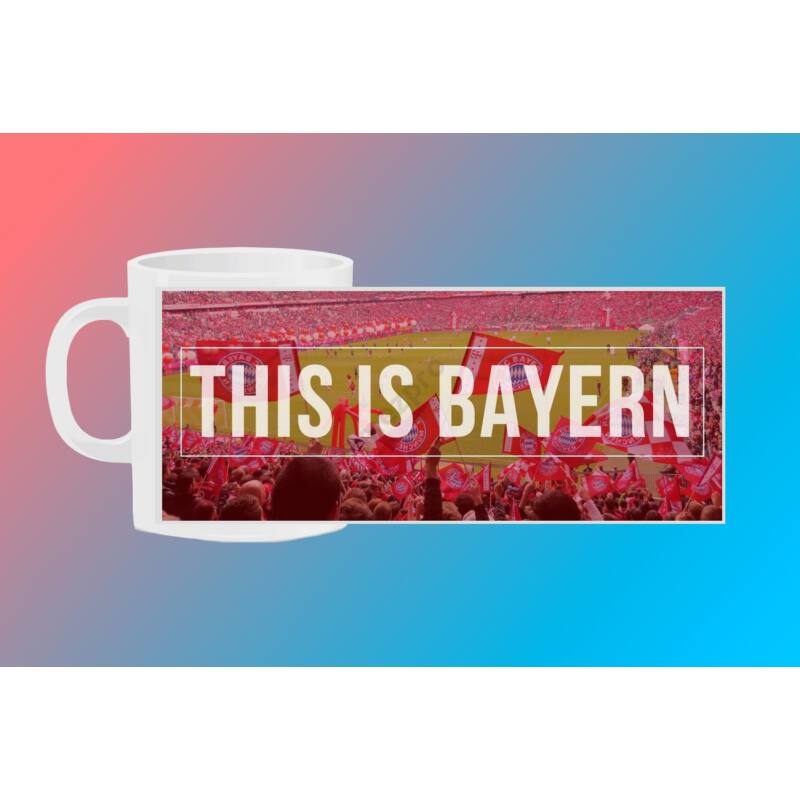 Bayern München egyedi bögre